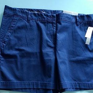 Talbot's Chino shorts 16 petite